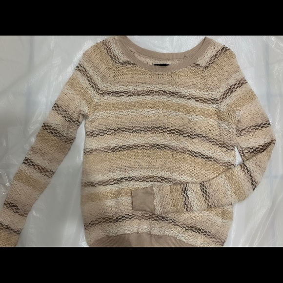 American Eagle Outfitters Sweaters - STRIPED AMERICAN EAGLE SWEATER